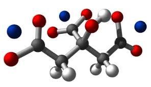 شکل سه بعدی سدیم سیترات