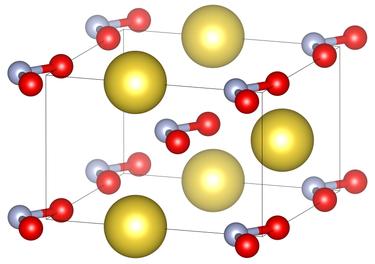 ساختار سدیم نیتریت